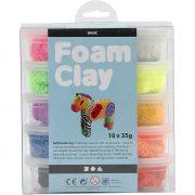 set foamclay 10st