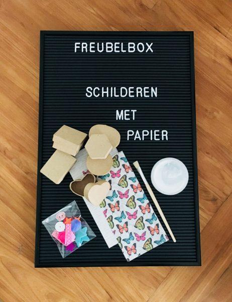 Freubelbox decoupage mini doosjes