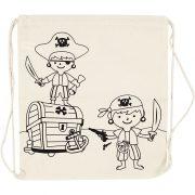 499651 piraten rugzak 37×41 cm