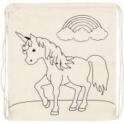 499652 unicorn rugzak 37×41 cm