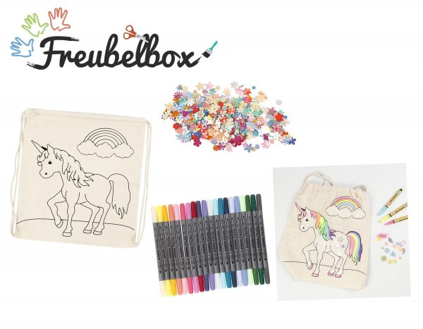 Freubelbox unicorn rugzak