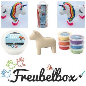 Collage_Foamclay unicorn