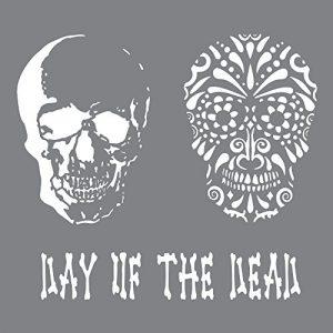 stencil day of the dead